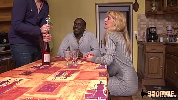 Louise takes a big black cock in her ass