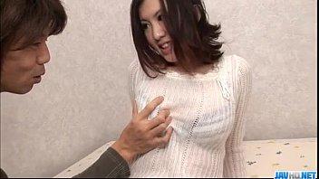 Momoka Amai loves sucking cock before fucking hard