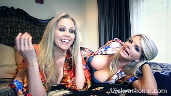 Free lesbian milf videos - Vicky vette julia anns first ever video