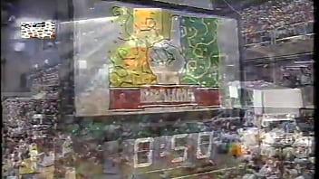 cristina mortagua con academicos de rio grande 1994