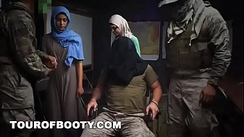 Iraq army women nude - Tour of booty - rag tag soldiers fuck their way through the middle east