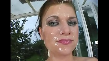 5 cumshots too much for babe