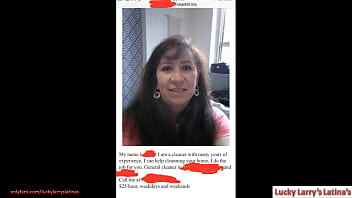 Sophie 50 Year old Mexican Servant From Craigslist Looking for Work (Parts 1,2,3 On Xvideos Red)