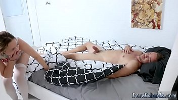 My bosss hot mom blonde and guy fucked with strap orgy first time