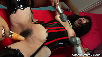Plump Eri Kitah ara is moaning while being to  while being to cum
