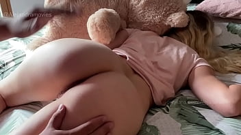 Amazing buttocks are fucked by a lucky fat guy