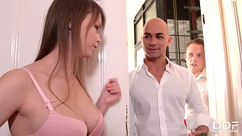 Alysa and Beata Undine have their holes gaped in hardcore dp group sex orgy