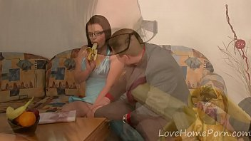 Cute teen gets seduced by her older stepbrother
