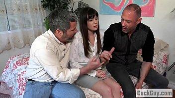Slutty Alison Rey makes her husband a cuckold