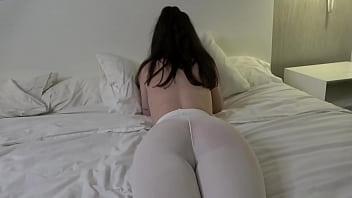 this beautiful girl with big tits and good ass got a huge co