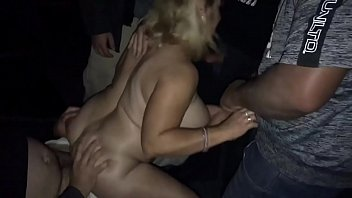 Adult thumbnail pic - Slut wife fucked at adult theater