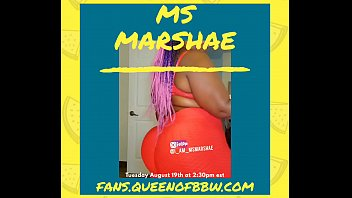 Big Booty Ms Marshae X Co-stream with MILF Platinum Puzzy on onlyfans