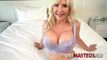 Busty Blonde MILF Victoria Lobov POV Sex porno izle