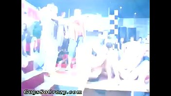 Group hard and limp cocks gay This male stripper party is racing