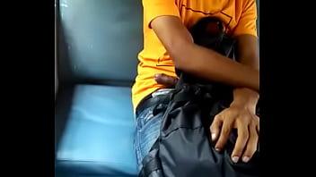 Mastubration in train kerala