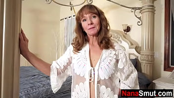 Grandmother calls step grandson to her bedroom