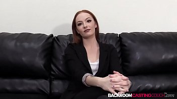 Petite redhead auditions for facial after big cock cowgirl Vorschaubild