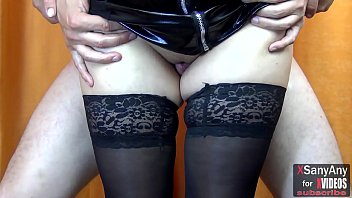 Hairy inner thigh - Thigh jobs : sexy legs in stockings and high heels - xsanyany