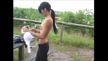 xhamster.com 5918373 skiny french teen outdoor blowjob 480p