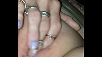 Granny finger her wet pussy preview image