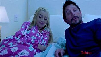 Sleeping Daddy Wakes Up To Naked Daughter- Savannah Sixx