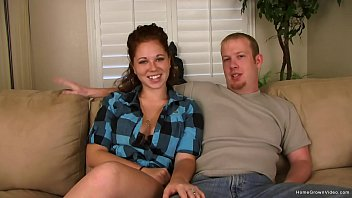 Newlywed couple wants to make their first porno