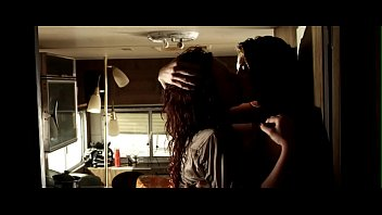 """Julia Voth & Erin Cummings - """"Bitch Slap"""", Lesbian Scene"""