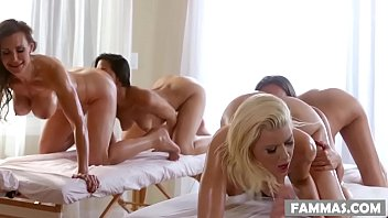 Breast step massage botanica performed Mother daughter spa day - anikka albrite, lizz taylor, lyla storm and tanya tate
