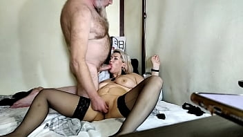 Mature webcam sexy couple from Moscow: marital sex on demand )) Well guys, not all of you fuck your own wives for money? ))