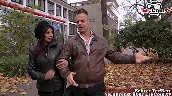 deutschs verliebtes paar mit arabischer türkischer frau ohne kondom