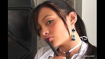 Teen Lesbi Student