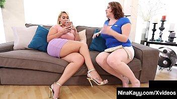 Big Booty Babe Nina Kayy Milks Black Cock With Maggie Green! porno izle