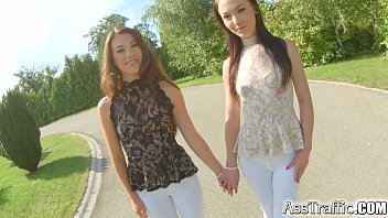 Ass Traffic French babes in anal gaping extravaganza 14 min