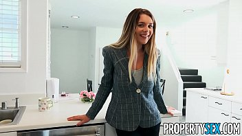 PropertySex Hot Real Estate Agent With Big Tits Bangs Client thumbnail