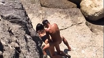 Italian Amateur Fucking Doggystyle by the sea 60秒