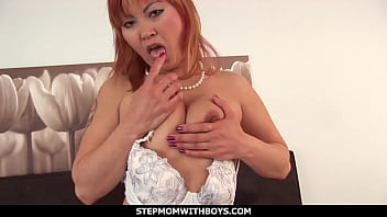 StepmomWithBoys - Sexy Asian Stepmom Fucking Her Lewd Stepson 12 min