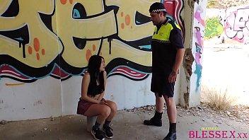 Student teen fucked by police - Magic Javi & Paola Hard