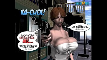 Mature anime comics - 3d comic: six gun sisters. episode 5