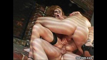 Fetish girl redhead true - Curly redhead vanessa in hot threesome