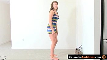 First Time Casting Porn With Shy Amateur Brunette