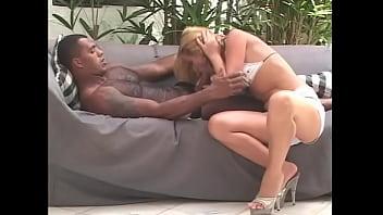 Blond chick anal black cock 17 min