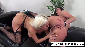 Dita von teese dildo video Nikita von james and kendra lust lick each other