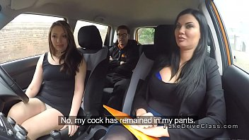 Driving student and examiner share dick tumblr xxx video