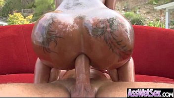 Amazing Anal Sex On Cam With Big Ass Oiled Girl (bella bellz) video-07