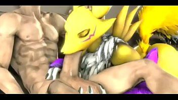 3D Renamon Compilation with Sounds by Thehentaihard69