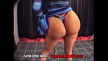 Latin Spice NUDE The Most Amazing ASS CHEEKS ON EARTH - Big Ass Latina - Puerto Rican Booty