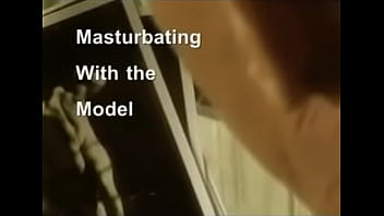 Wanking With Model