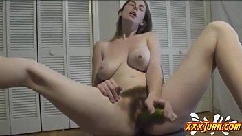 Cucumber Hairy Fuck ★ xxxTurn.com