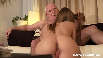 Strength training for senior adults - Old farmer gets horny and fucks his hot niece