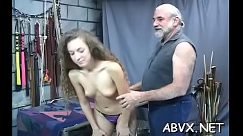 Filthy babe is getting her honey pot drilled